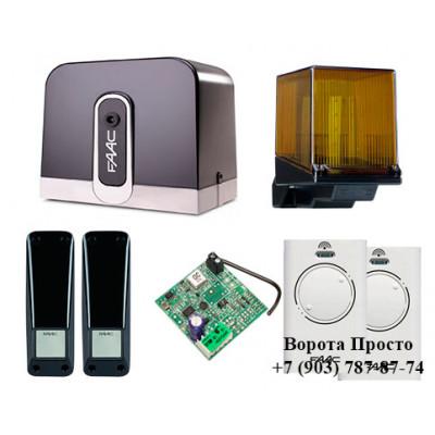 Комплект автоматики для откатных ворот FAAC С720 SLH