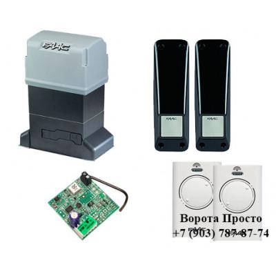 Комплект автоматики для откатных ворот FAAC 844 ER KIT