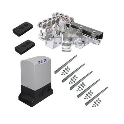 Ролтэк ЭКО комплектующие до 500 кг 6 м + автоматика Doorhan Sliding-1300
