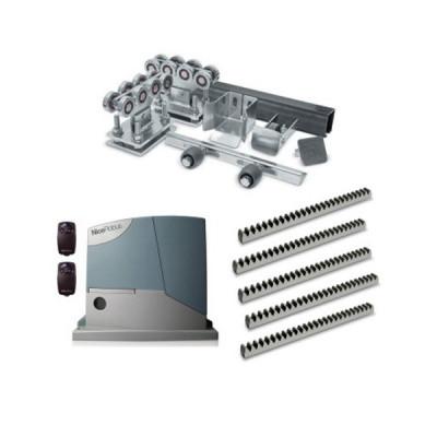 Комплект для откатных ворот РОЛТЭК МИКРО до 350 кг 6 м + автоматика Nice RD400KCE