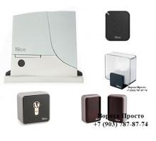 Комплект автоматики для откатных ворот Nice ROX600KCE