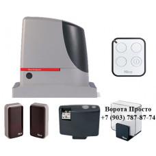 Комплект автоматики для откатных ворот с обратной связью Nice RUN400HSBDKIT2