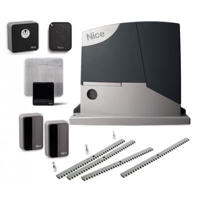 Комплект автоматики для откатных ворот с зубчатой рейкой Nice RD400KIT3