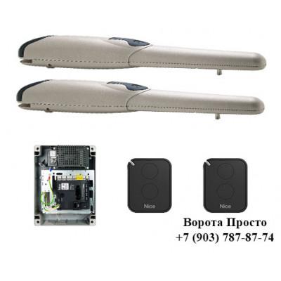 Комплект автоматика для распашных ворот Nice WINGO2024KCE