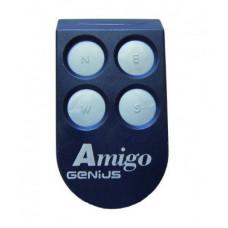 Пульт-брелок д/у для ворот и шлагбаумов GENIUS Amigo 4