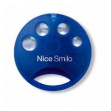 Пульт-брелок д/у для ворот и шлагбаумов Nice Smilo 4 Blue